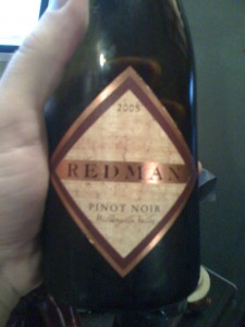 Redman Pinot Noir 2005