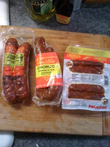 Today's Chorizos