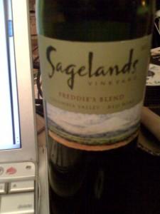 """Sagelands 2007 """"Freddie's Blend"""""""